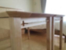オーダー家具,ローテーブル,オーク,天板