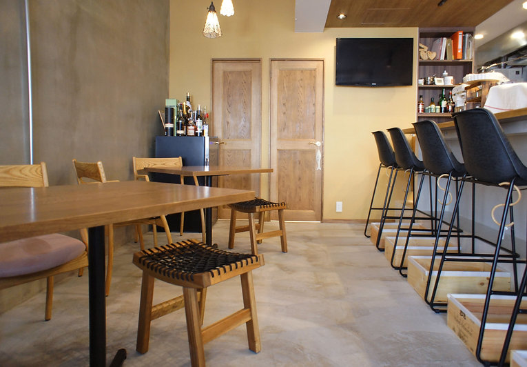 店舗内装、店舗什器、内装デザイン、飲食店