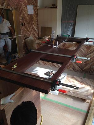 オーダー家具,オーダーキッチン,インテリア,無垢,リノベーション,ヘリンボーン