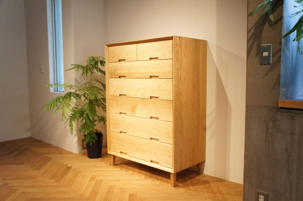 オーダー家具,チェスト,無垢,造作家具