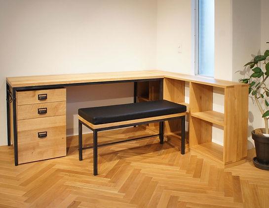 オーダー家具,学習机,デスク,勉強机,書斎