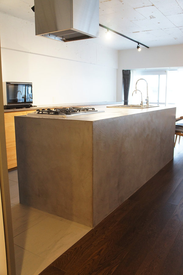 オーダー家具,東京,無垢家具,リビング,キッチン,キッチンカウンター