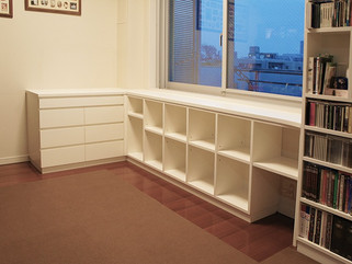 お手持ちの家具に合わせてサイドボードを製作