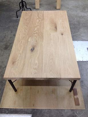 オーダー家具,無垢,テーブル削り直し,天板