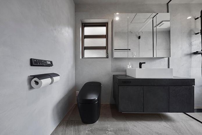 モールテックスのバスルーム