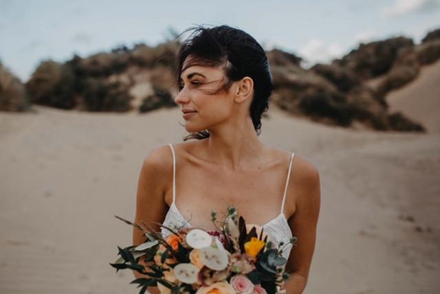 Beachy Wedding