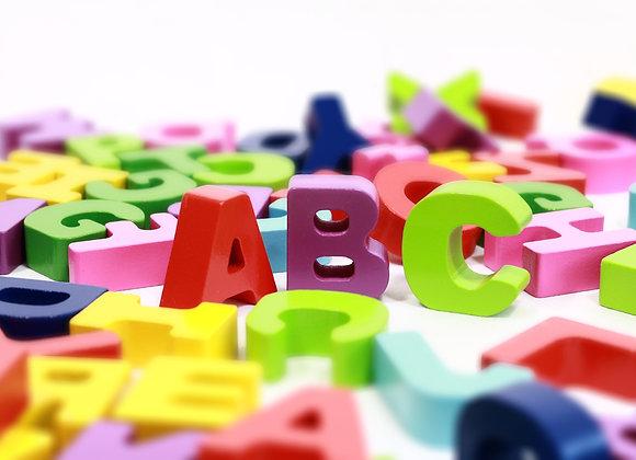 Sprache Deutsch - Z1 Buchstaben lernen (A-Z)
