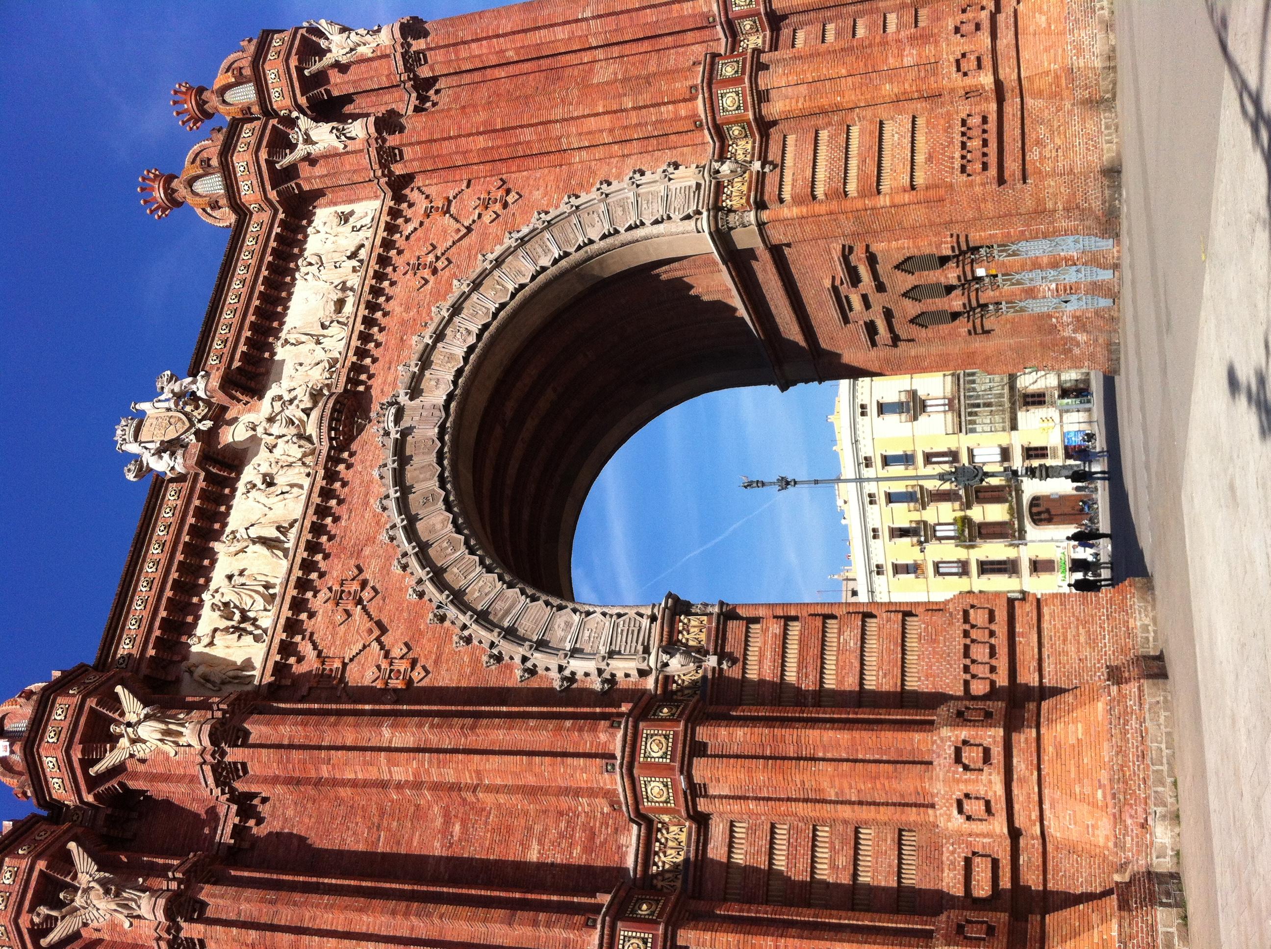 Barcelona – Arc de Triomf