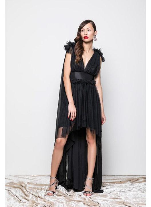 online retailer 627bf 67813 REVISE - ABITO TULLE - NERO   SAH TORINO