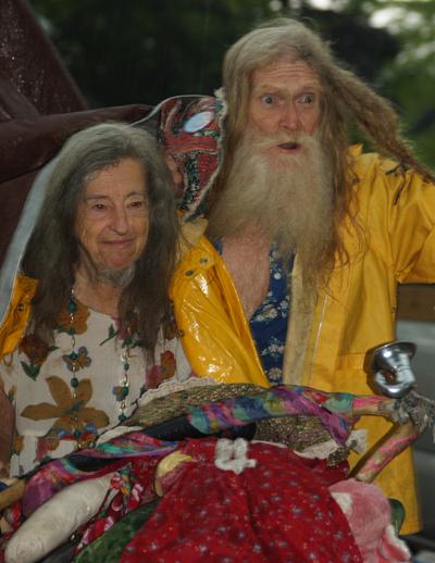 Grandpa &Grandma Woodstock