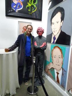 Andy Warhol Art at the Revolver