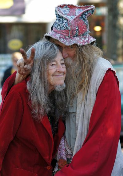 Grandpa & Grandma  Woodstock