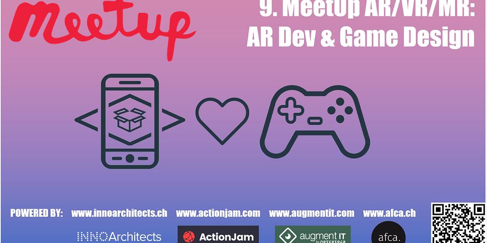 9. MeetUp AR/VR/MR: AR Development & Game Design