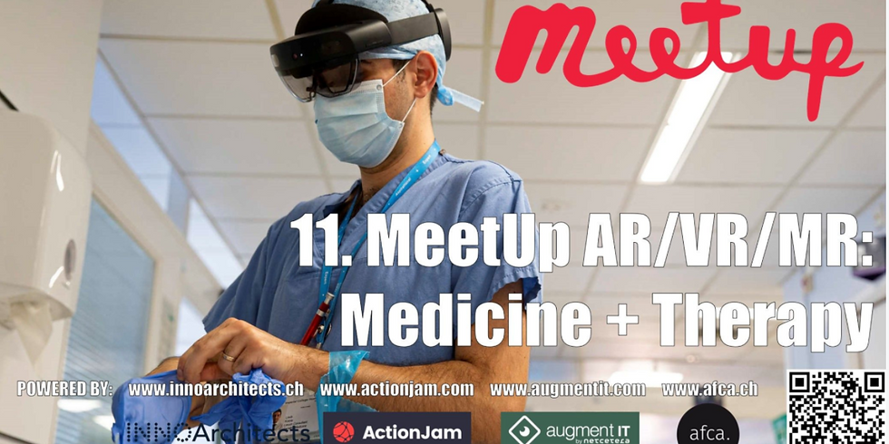 11. MeetUp AR/VR/MR: Medicine + Therapy
