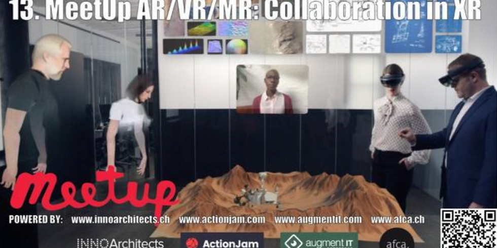 13. MeetUp AR/VR/MR Collaboration in XR