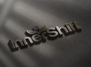 Inner Shift logo black and white