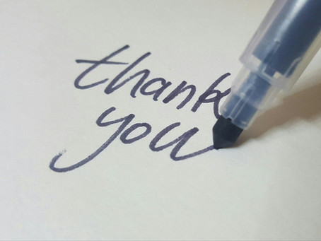 """A """"Thank You"""" to our customers"""