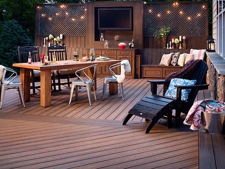 Now is the time to get your deck done for summer!
