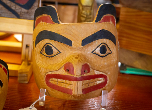 Red Cedar Beaver Mask