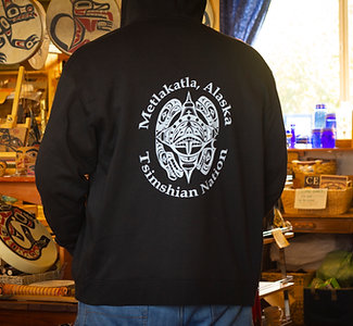 Four-Clan Full-zip Hoodie
