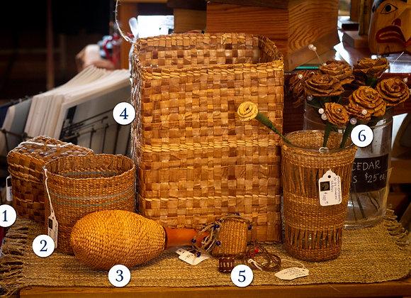 Cedar Woven Items (price varies)