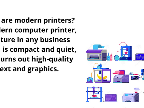 The Modern Printer That Fulfills All Your Modern Printing Needs