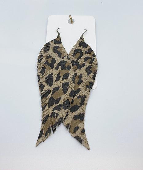 Nyomi - Large Leopard Print