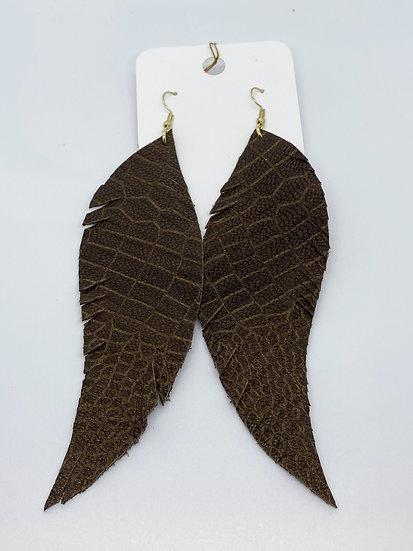 Nyomi - Brown Textured