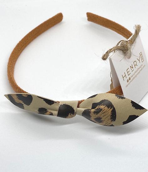 Marley Hair headband- leopard