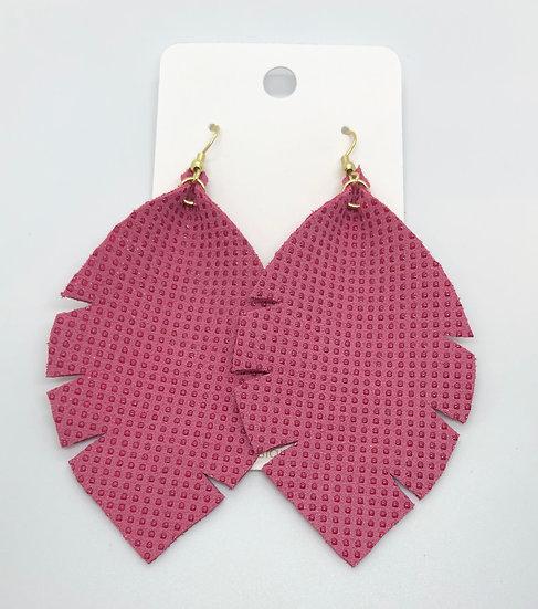 Alixandir - Dark Pink Textured Dots