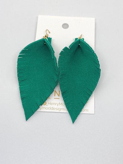 Austin - emerald suede