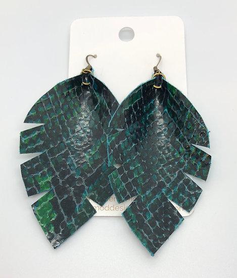 Alixandir - Green & Black Snakeskin