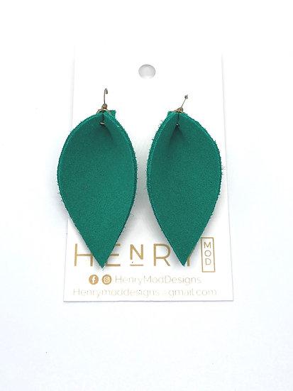 Nyla Jean - emerald suede