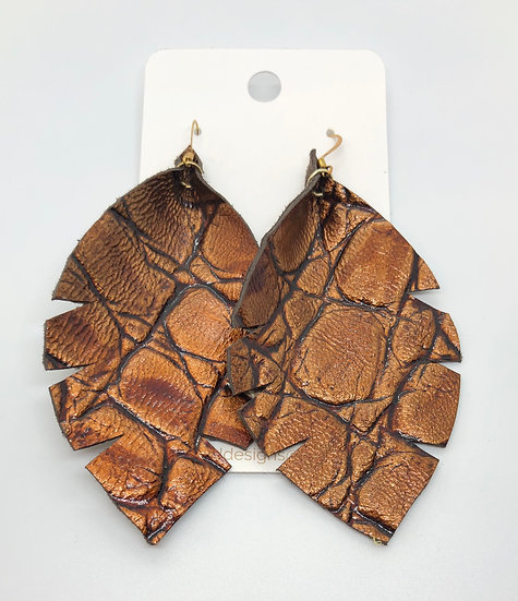 Alixandir - Bronze Metallic Gator