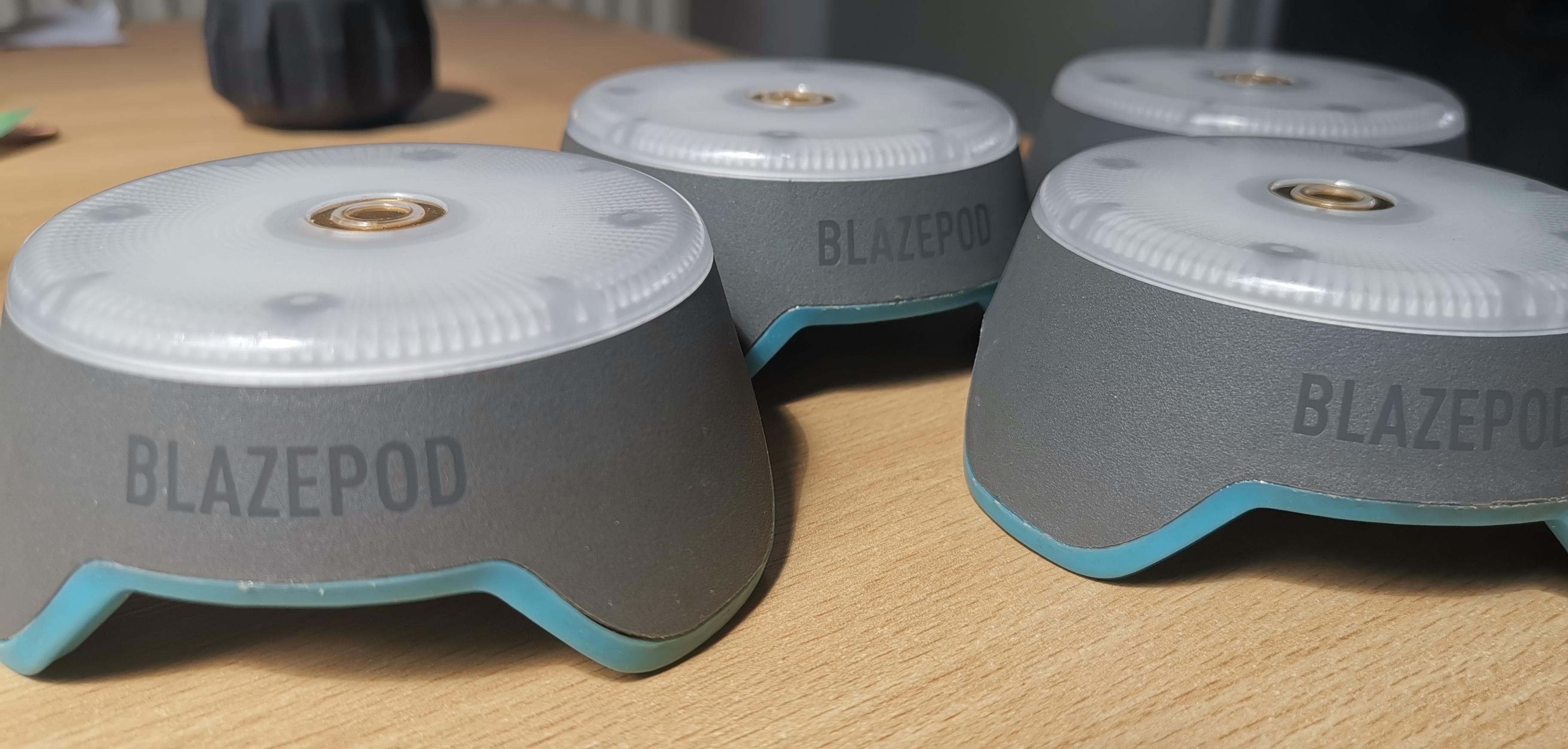 Blazepods fitness lights