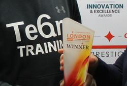 Team 6 training award