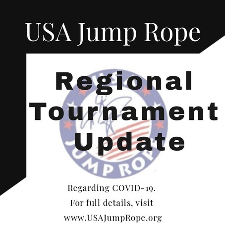 Update from USA Jump Rope Competition Committee