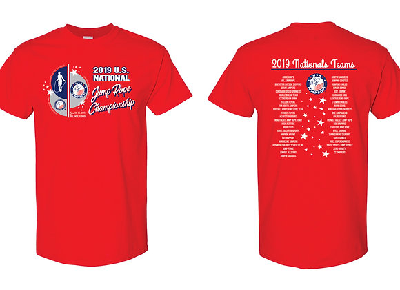 2019 Nationals T-shirt