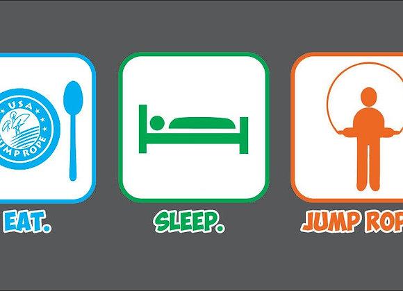 Eat, Sleep, Jump Rope Hoodie