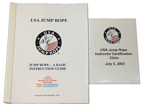 Jump Rope Basic Instructional Guide with DVD