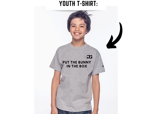"""Youth Unisex DG's """"Put the Bunny in the Box"""""""