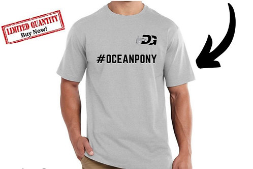 Men's  #OceanPony Short Sleeve t-shirt