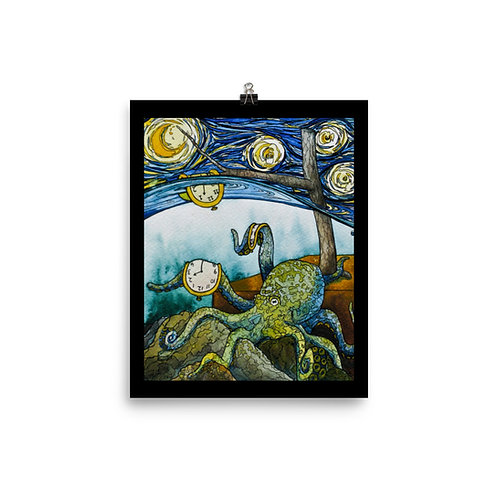 """""""Octopus"""" - King Tide Triptych - Poster"""