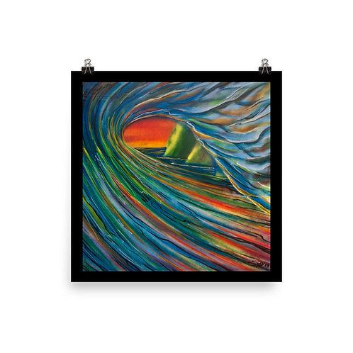 """Napali Wave"" - Poster"