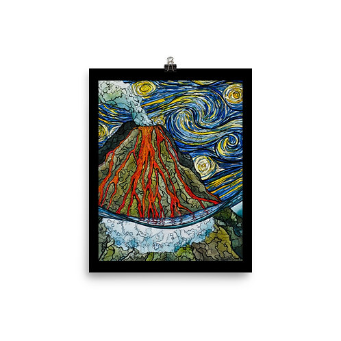 """Volcano"" - King Tide Triptych - Poster"
