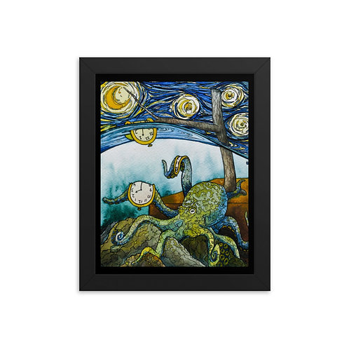 """Octopus"" - King Tide Triptych - Framed poster"