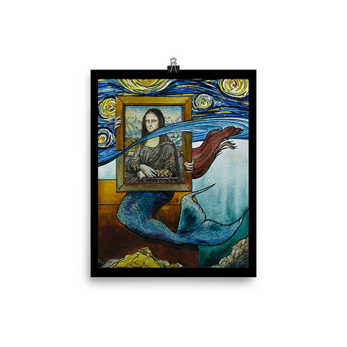 """Mermaid"" - King Tide Triptych - Poster"
