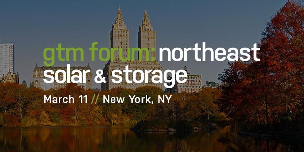 Northeast Solar & Storage Forum 2020