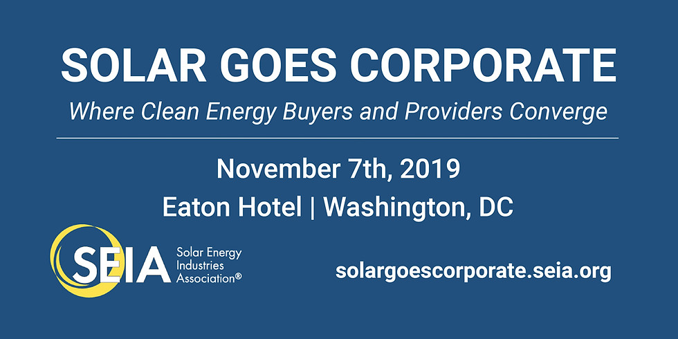 Solar Goes Corporate