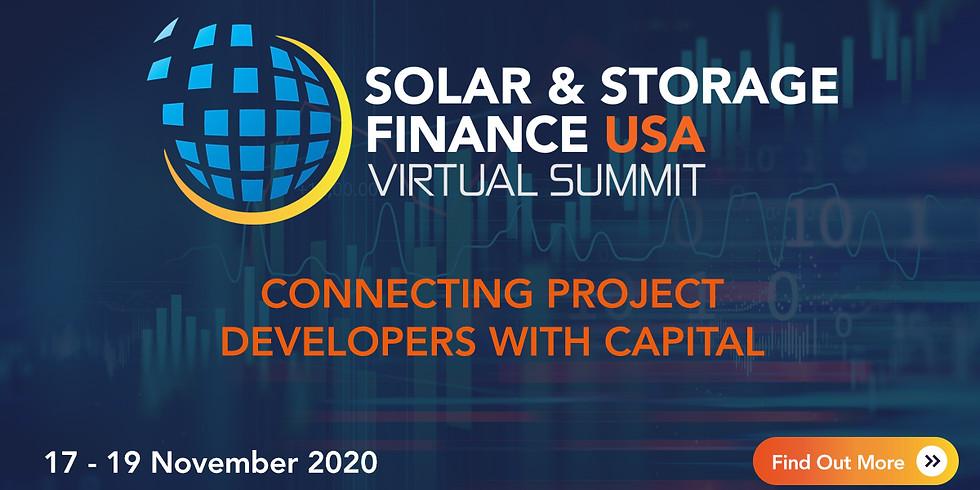 Solar & Storage Finance USA Virtual Summit